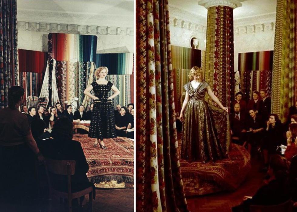 品种工作室,二十世纪50年代。图片来源:Semyon Mishin-Morgenstern/MAMM/MDF/russiainphoto.ru