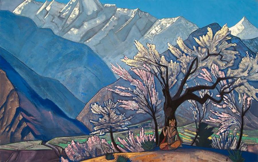 《克里希纳(库鲁的春天)》,1930 年 / Nikolas Roerich Museum in New York