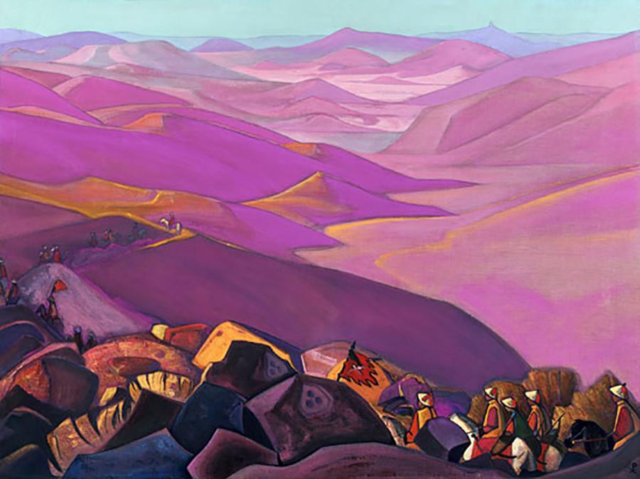 《蒙古。成吉思汗远征》,1937年 / 俄罗斯国立东方博物馆
