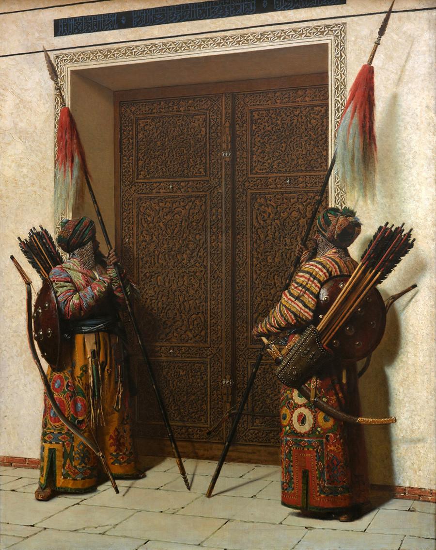 《帖木儿之门》,1872 年/特列季亚科夫画廊