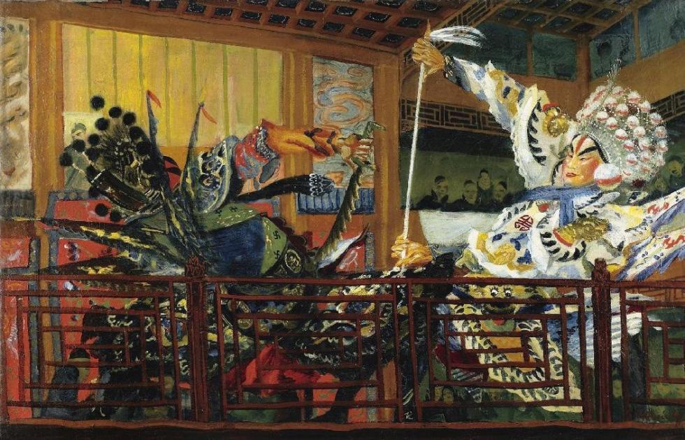《战士战斗》,日本剧场 / 私人收藏