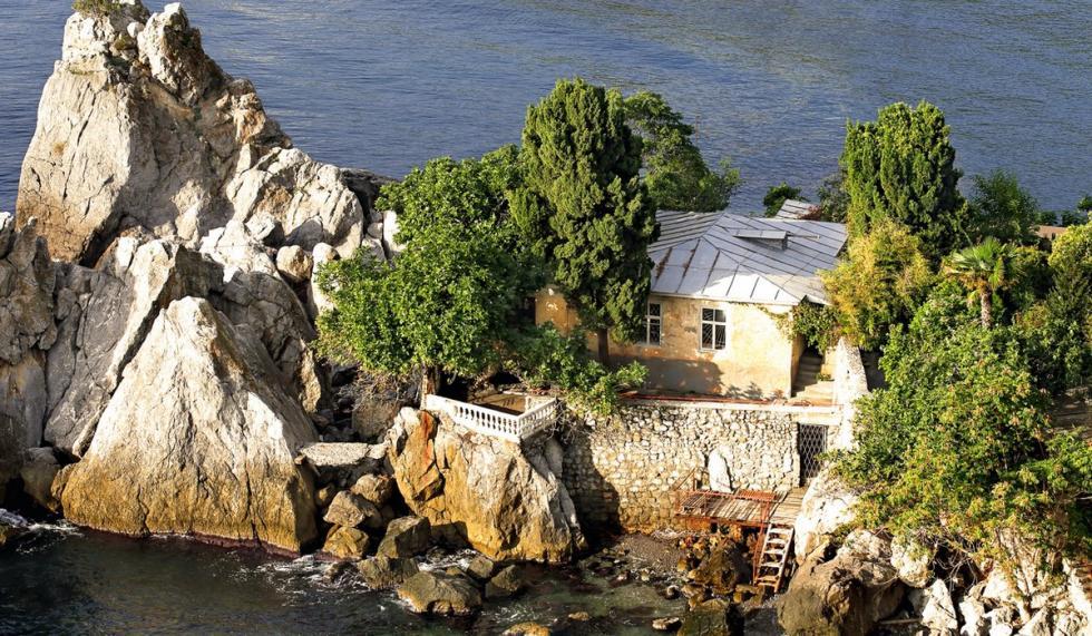 契诃夫在克里米亚的秘密别墅。