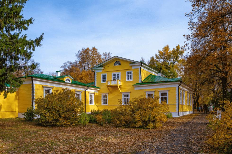 普希金在大博尔季诺的庄园