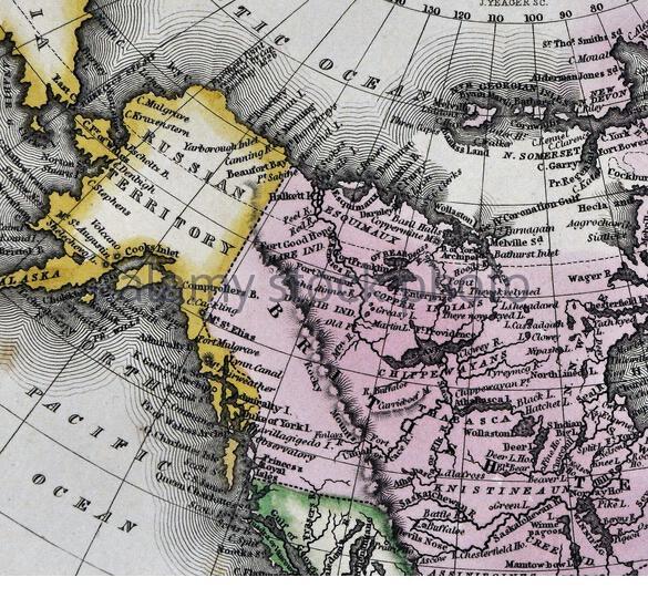 俄属北美地图 来源:Press Photo