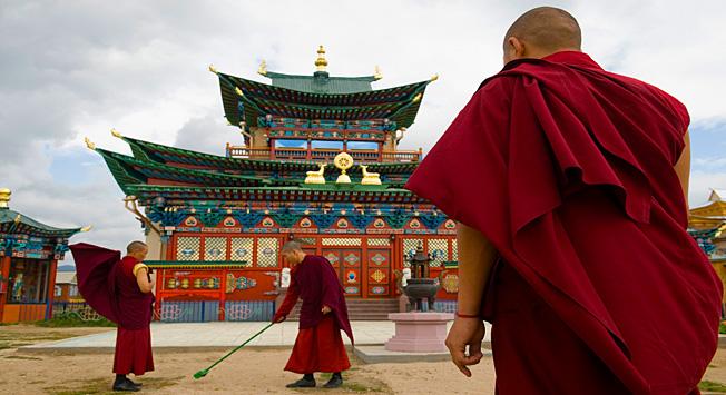 伊沃尔金喇嘛寺。图片来源:Sergei Guneev / 俄新社