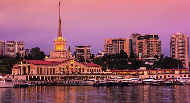 索契市。图片来源:Shutterstock/Legion-Media